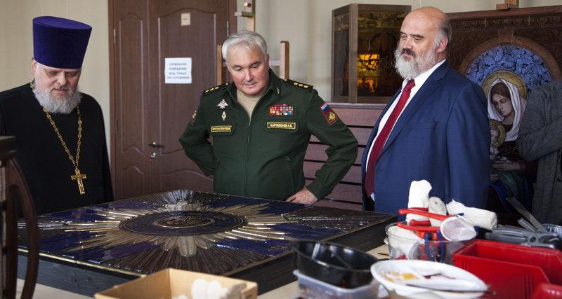Посещение Академии зам.министра обороны